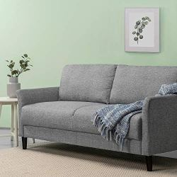 ZINUS Jackie Sofa Couch / Easy, Tool-Free Assembly, Soft Grey