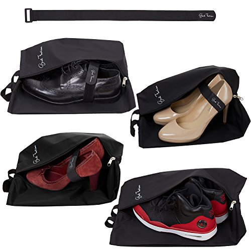 Travel Shoe Bags for Men & Women - Set...