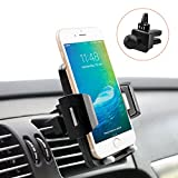 Cell Phone Holder for Car, Universal Car Holder Phone Mount Quntis Car Air Vent Stand Cradle Holder 360 Rotation Compatible with iPhone Xs X 8 7 6 Plus Samsung S10 S9 S8 Plus LG Motorola Pixel