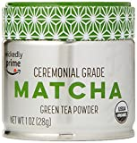 Wickedly Prime Organic Matcha Green Tea Powder, Ceremonial Grade, 1 Ounce