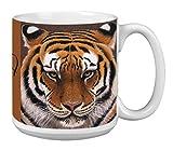 Siberian Tiger Extra Large Mug 20-Ounce Jumbo Ceramic Coffee Mug Cup, Wildlife Themed Art - Gift for Animal Lovers (XM29732) Tree-Free Greetings