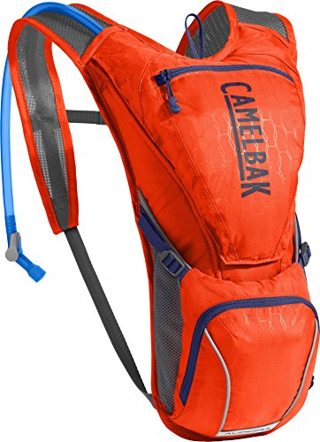 CamelBak 1312601000 Aurora Crux Reservoir Hydration Pack, Cherry Tomato/Pitch Blue, 2.5 L/85 oz