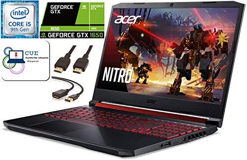 Acer-Nitro-5-156-FHD-Gaming-Laptop-9th-Gen-Intel-Quad-Core-i5-9300H-32GB-DDR4-RAM-1TB-SSD-1TB-HDD-NVIDIA-GeForce-GTX-1650-Backlit-Keyboard-WiFi-6-MaxxAudio-Windows-10-CUE-Accessories