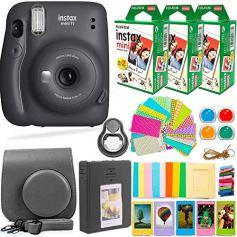 Fujifilm-Instax-Mini-11-Camera-with-Fuji-Instant-Film-60-Sheets-Accessories-Bundle-Includes-Case-Filters-Album-Lens-and-More