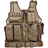 Barska Loaded Gear VX-200 Right Hand Tactical Vest, Tan