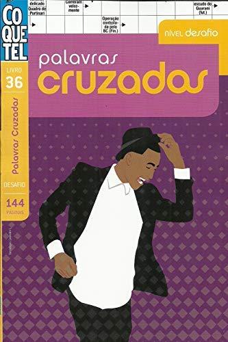 Livro Palavras Cruzadas Coquetel nº 36 - Nível Desafio