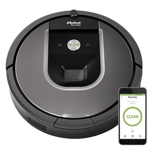 iRobot Roomba 960 Robot Vacuum- Wi-Fi Connected Mapping, Works with Alexa, Ideal for Pet Hair, Carpets, Hard Floors… 1