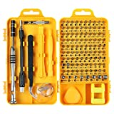 PC Repair Screwdriver Set, Apsung 110 in 1 Professional Precision Screwdriver set, Multi-function Magnetic Repair Computer Tool Kit Compatible with iPhone/Ipad/Android/Laptop/PC etc