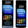 JNW Direct Drinking Water Test Strips 10 in 1, Best Kit for Fast, Easy & Accurate Water Quality Testing at Home, 125 Strips MEGA Pack