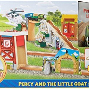 Fisher-Price Thomas & Friends Wooden Railway Percy & The Little Goat Set Toy 51nAYq7I2sL