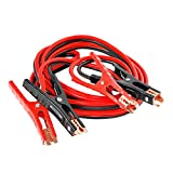 ALEKO CH-NA005 Heavy Duty 6 GA Booster Cable Jumping Cables Power Jumper Auto Battery Booster Cables CCA 16 Feet