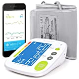 GreaterGoods Smart Blood Pressure Monitor Cuff, Smart Health Monitoring for Home Use