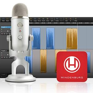 Blue Yeti Silver Podcaster Bundle 12