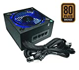 Apevia ATX-SN900W Signature 900W 80+ Bronze Certified Active PFC ATX Modular Gaming Power Supply, 3 Year Warranty