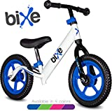 """Blue (4LBS) Aluminum Balance Bike for Kids and Toddlers - 12"""" No Pedal Sport Training Bicycle for Children Ages 3,4,5,6."""
