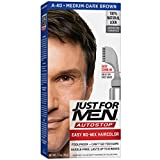 Just For Men AutoStop Men's Comb-In Hair Color, Medium-Dark Brown