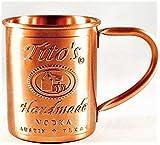 Tito's Vodka Copper Moscow Mule Mug