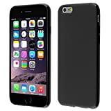 iPhone 6/ 6S Case, Insten Frosted TPU Cover Case Compatible with Apple iPhone 6/ 6S (4.7), Black