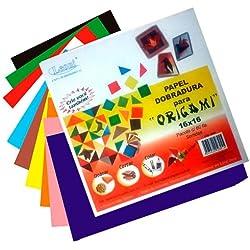 Papel Dobradura Para Origami 16x16cm 60 Folhas