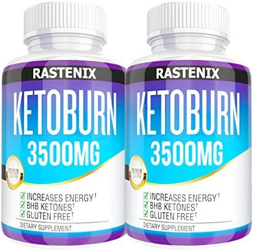 Keto Pills - 3X Potent (2 Pack | 180 Capsules) - Advanced Keto Burn Diet Pills - Boost Energy and Metabolism - Exogenous Keto BHB Supplement for Women and Men (2 Pack) 3