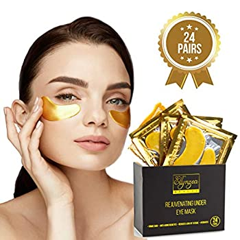 Ellynzea Beauty Rejuvenating Under Eye MaskLook Great!  Our rejuvenating under eye mask will leave you looking great. Our high quality under eye pads instantly firm skin, effectively relieve the look of chronic fatigue, puffiness, bags, and dark circ...