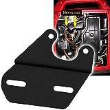 Universal Tach/Hour Meter Mounting Bracket Black Compatible for Honda Generators EU1000I EU2000I & EU2200I