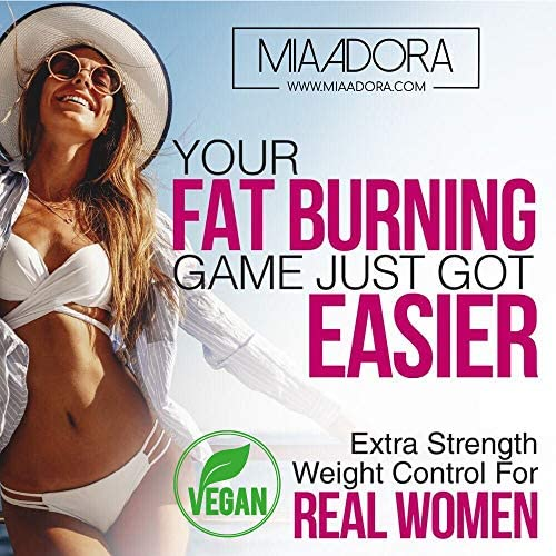 Women's Fat Burner Pills for Fast Weight Loss [Super Thermogenic] Best Natural Diet Pills, Metabolism Booster & Appetite Suppressant Supplement, Carb Blocker, Extra Strength & Energy, Vegan, 60 Caps 8