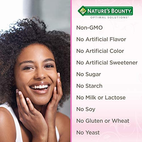 Collagen Beauty Blend by Nature's Bounty Optimal Solutions, Dietary Supplement, Supports Skin Health, Vanilla Flavor, 15g Per Serving, 20 Powder Servings 5
