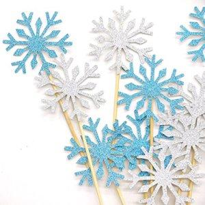 Bastoncini con fiocco di neve Frozen
