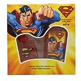 Superman For Men 2 Pc. Gift Set (Eau De Toilette Spray 3.4 Oz + Body Wash 8.0 Oz) By Marmol & Son