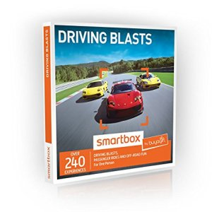 Buyagift Driving Blasts Gift Experiences Box – 240 driving days from off road thrills to exhilarating passenger rides