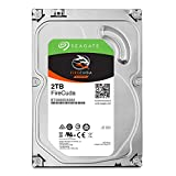 Seagate FireCuda 2TB Solid State Hybrid Drive Performance SSHD - 3.5 Inch SATA 6Gb/s Flash Accelerated for Gaming PC Laptop (ST2000DX002)