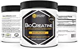 Natural Stacks: BioCreatine - Creatine Supplement - 120 Vegetarian Capsules - Optimal Absorption - Increase Muscle Mass - Improve Cognitive Function - Neuroprotection