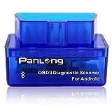 Panlong Bluetooth OBD2 OBDII Car...