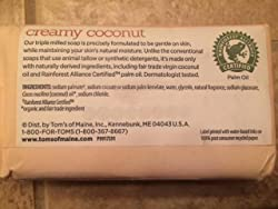Tom's of Maine Natural Beauty Bar Soap With Virgin Oil, Coconut, 5 Ounce, 6 Count Customer Image 2