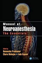 Manual of Neuroanesthesia: The Essentials