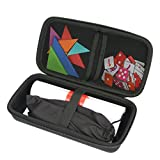 khanka Hard Travel Case Replacement for Osmo Genius Kit ,Fit Tongram / Words / Nuberms / OSMO IPad Base (Black)