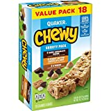 Quaker Chewy Granola Bars, Variety Pack, 18 Bars