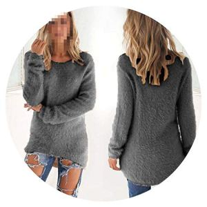 Winter Knitted Sweater Women Pullover O Neck Long Sleeve Women Loose Warm Long Sweater
