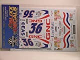 Slixx Decals 1/24 - 1/25 Scale 'GNC Live Well' for the Revell 2000/2001 Monte Carlo Stock Car