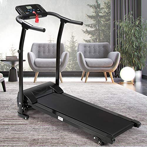 Finelylove Treadmill for Home Gym Running Machine, Multi-Functional LED Display Electric Folding Treadmill 1