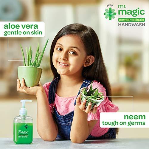 51nom4WRJBL - Godrej Protekt Mr. Magic Powder-to-Liquid Handwash Refill, (makes 200ml)