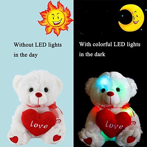 wewill led light up glow adorable stuffed animals - Christmas Stuffed Animals