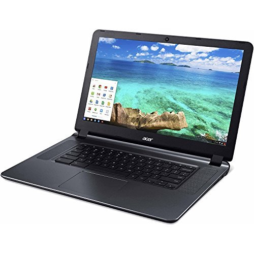 2018 Newest Acer CB3-532 15.6' HD Chromebook with 3x Faster WiFi, Intel Dual-Core Celeron N3060 up to 2.48GHz, 2GB RAM, 16GB SSD, HDMI, USB 3.0, Webcam, 12-Hours Battery, Chrome OS