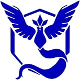 "Pokemon Go -- Team Blue (Mystic) Decal Sticker for Car/Truck/Laptop, 4.5"""