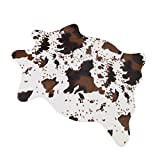 MustMat Cute Cow Print Rug Fun Faux Cowhide Area Rug Nice for Decorating Kids Room 29.5' W x 43.3' L