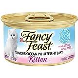 Purina Fancy Feast Kitten Tender Ocean Whitefish Feast Cat Food - (24) 3 oz. Pull-top Can