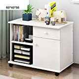 Simple wooden office cabinet Console file cabinet Removable low cabinet Lock Drawer data cabinet [lockers] Bedroom table-F