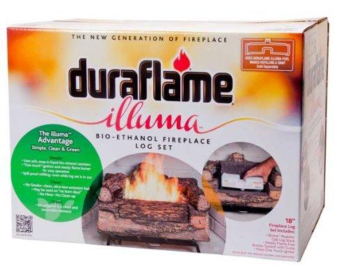 Duraflame Illuma Bio-Ethanol Log Set