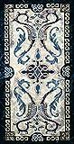 Celtic Design I - Woven Tapestry Wall Art Hanging - Irish Tribal Symbolic Knots - 100% Cotton USA Size 53x25